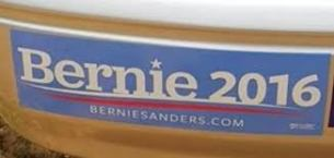 Bernie for Pres.bumper sticker